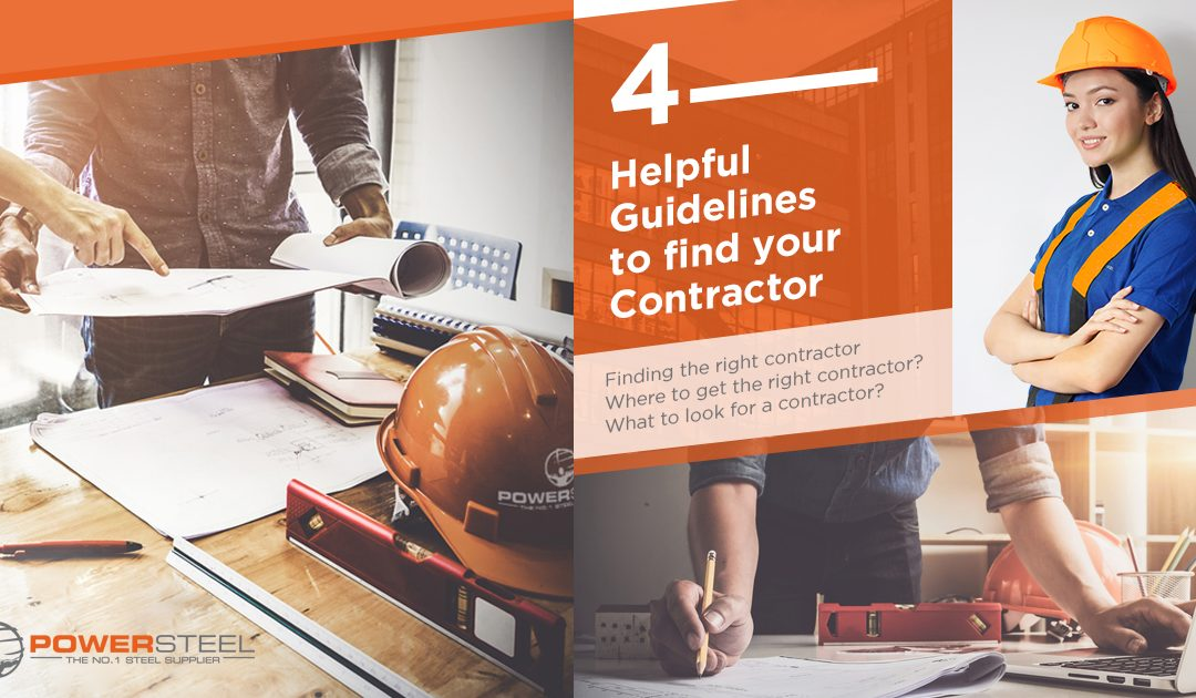 4 Helpful Guidelines to Find Your Contractor